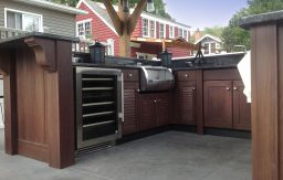 Be the Joneses with NatureKast outdoor kitchens