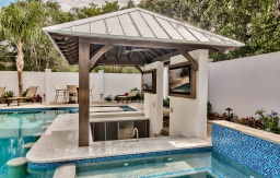 Outdoor cabinets sunken bar tv cabinets florida