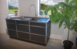 NatureKast Galley workstation suite cabinet